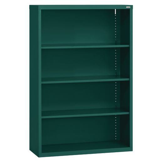 Elite Welded Bookcase - 3 Shelves - Forest Green
