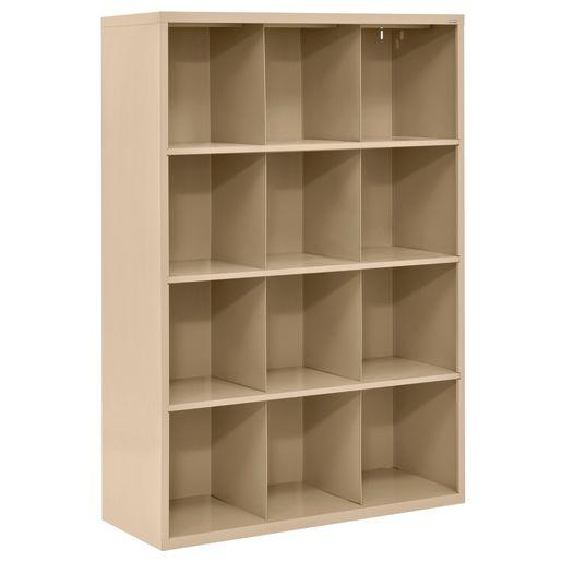 Cubbie Storage Organizer - 12 Cubbies - Tropic Sand