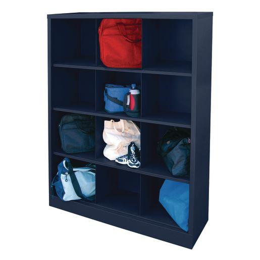 Cubbie Storage Organizer - 12 Cubbies - Navy