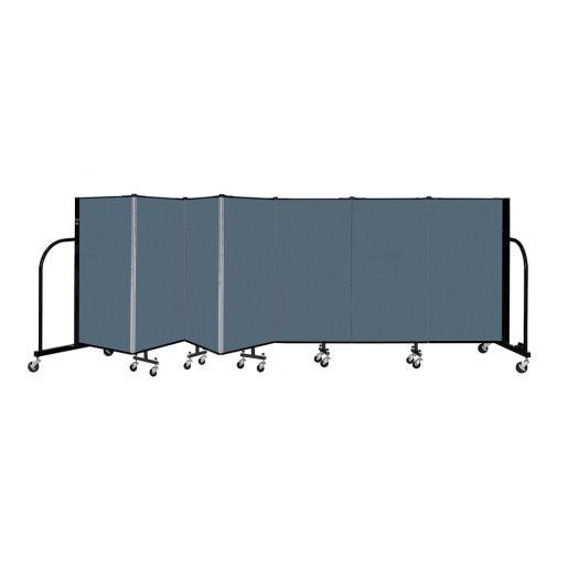 "Portable Room Divider 13'1"" x 4' - Marine Blue"