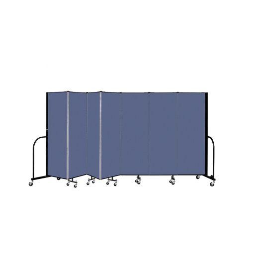 "Portable Room Divider 13'1"" x 6' - Blue"