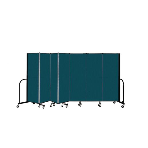 "Portable Room Divider 13'1"" x 6' - Marine Blue"