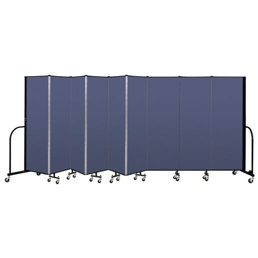 "Portable Room Divider 16' 9"" x 6' - Blue"