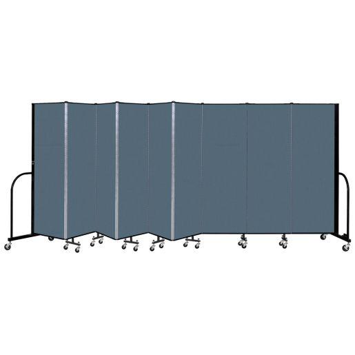 "Portable Room Divider 16' 9"" x 6' - Marine Blue"