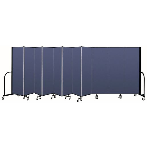 "Portable Room Divider 20'5"" x 6' - Blue"
