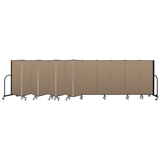 """Portable Room Divider 24'1"""" x 5' - Desert"""