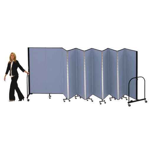 "Portable Room Divider 5'9"" x 6' - Stone"