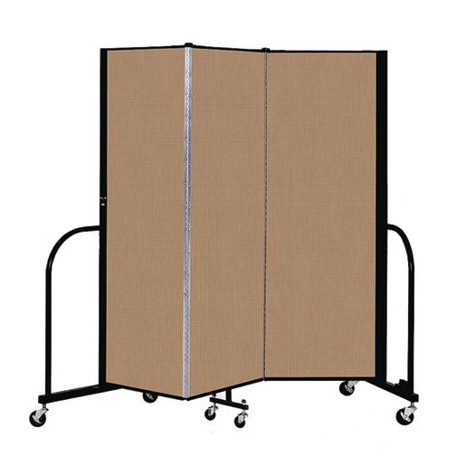 "Portable Room Divider 5'9"" x 6' - Desert"