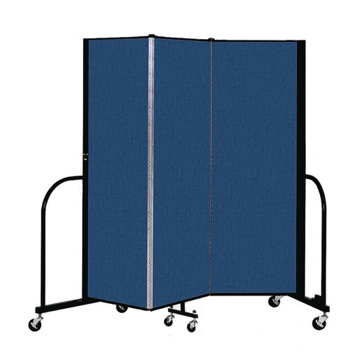 "Portable Room Divider 5'9"" x 6' - Blue"
