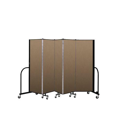"""Portable Room Divider 9'5"""" x 6' - Desert"""