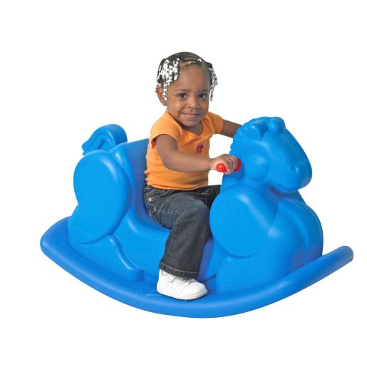 Image of Blue Rocking Horse