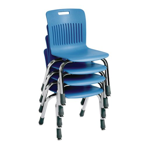"Analogy Chairs 12""H Set of 5 - Sky Blue"
