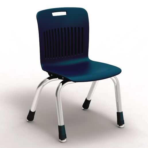 "Analogy Chairs 12""H Set of 5 - Navy"