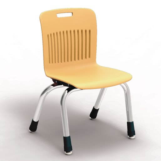"Analogy Chairs 12""H Set of 5 - Yelllow"