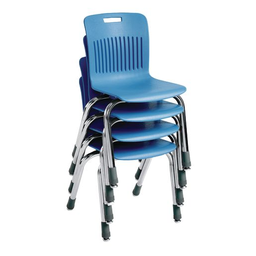 "Analogy Chairs 14""H Set of 5 - Sky Blue"