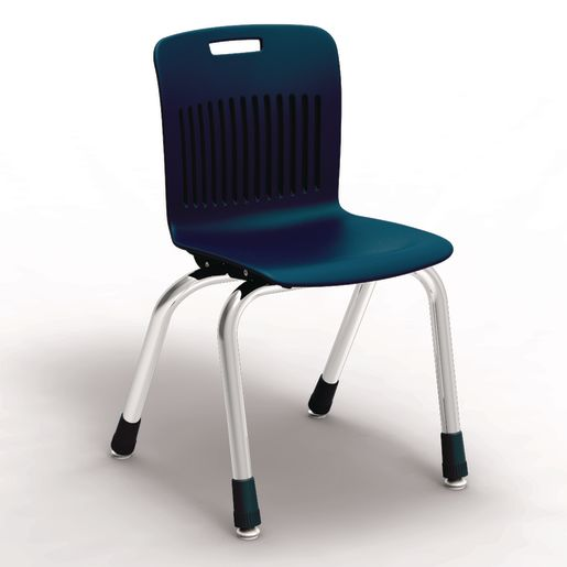 "Analogy Chairs 14""H Set of 5 - Navy"