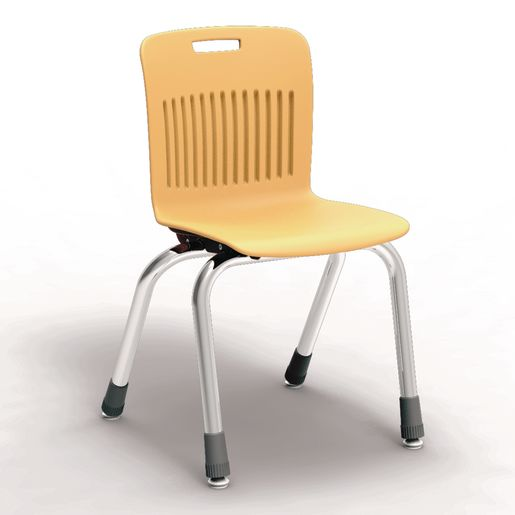 "Analogy Chairs 14""H Set of 5 - Yellow"