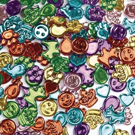 Image of Colorations Fun Gem Shapes 1 lb.