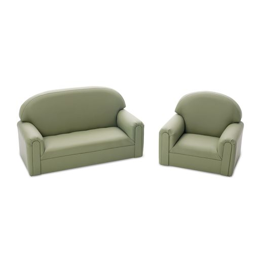 Enviro-Child  Toddler Sofa and Chair Set - Sage
