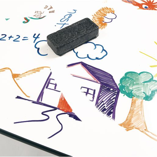 """Imagination Station 30"""" x 72"""" Dry-Erase Table - 21"""" - 30"""" High"""