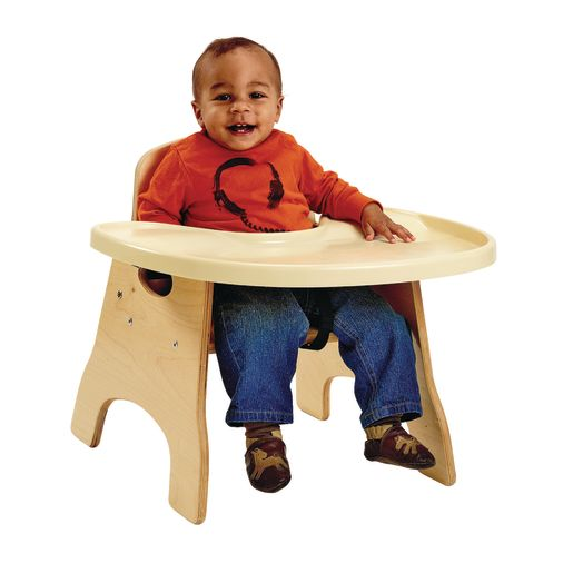 """High Chairries™ with Premium Tray - 11""""H Seat"""