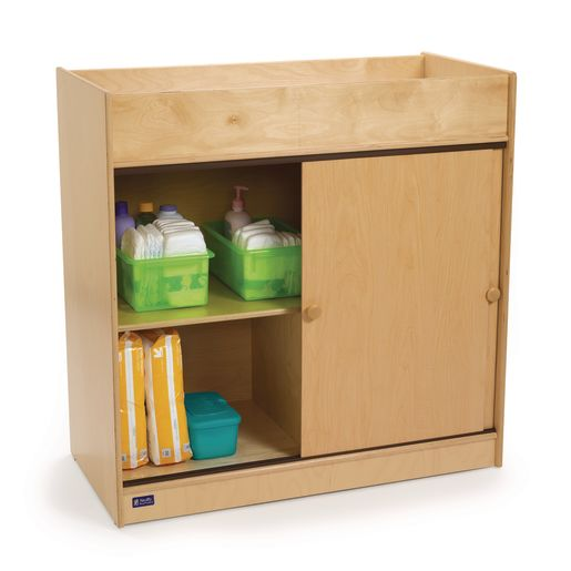 Changing Table with Plywood Doors
