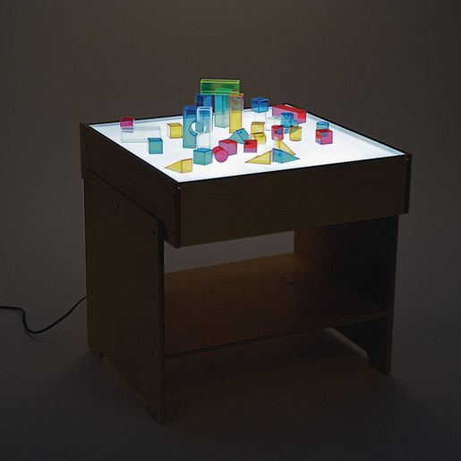 Space-Saver Light Table