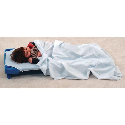 Soft Cotton Blankets - White, Set of 12