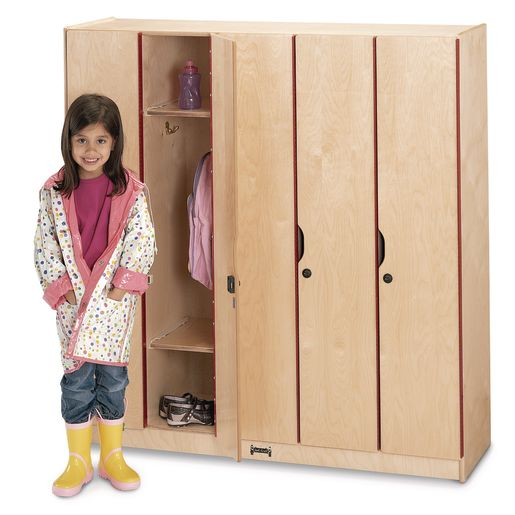 5 Section Locker with Doors