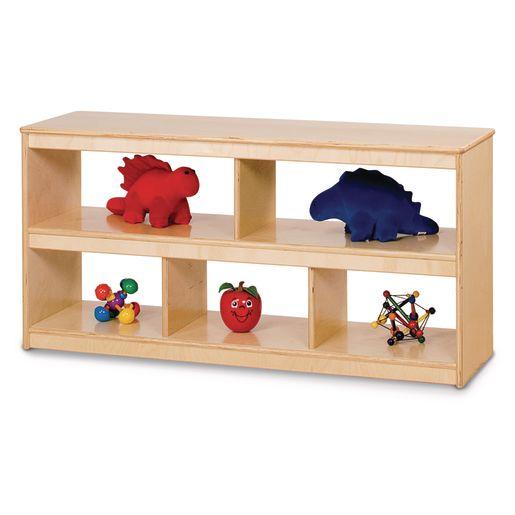Open Low Mobile Shelf