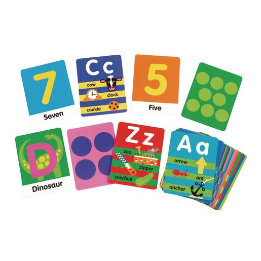 Melissa & Doug Jumbo ABC-123 Rug 58 X 79 with 36 Game Cards