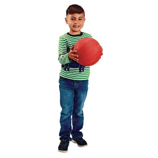 Premium Rubber Playground Balls - Set of 4