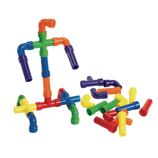 Image of Mini Pipe Tubes - 30 Pieces