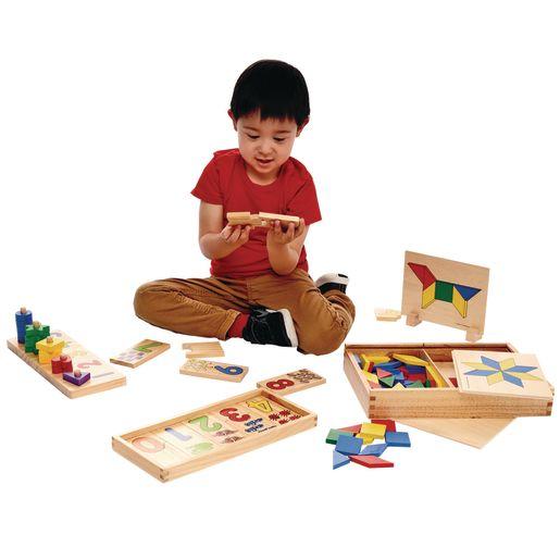 Wooden Mathematics Toys Set of 3