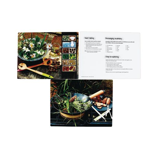 Mud Kitchen Double-Sided Activity Cards Set of 16_4