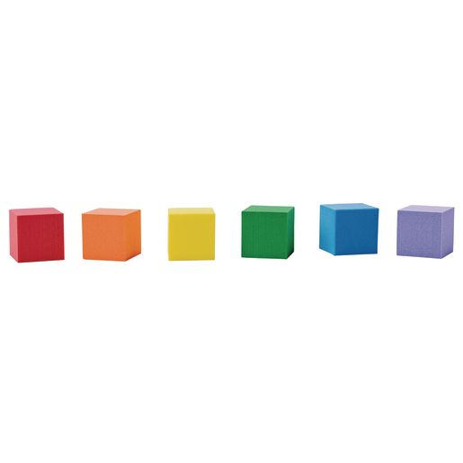 Foam Cubes and Activity Card Set