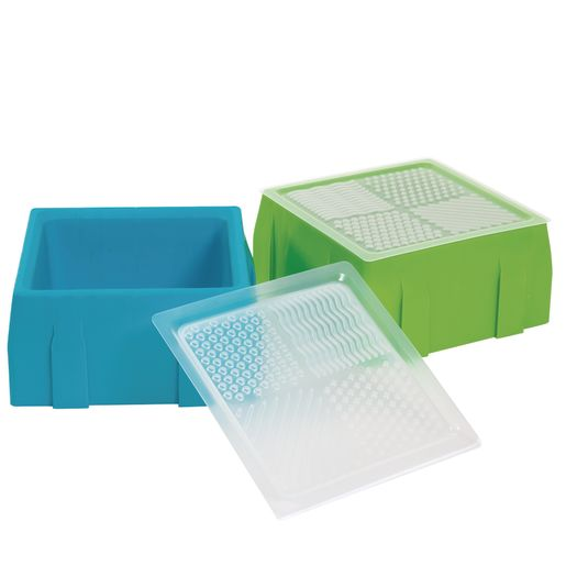 Image of Excellerations Sensory Sand Tray & Lid Set of 2