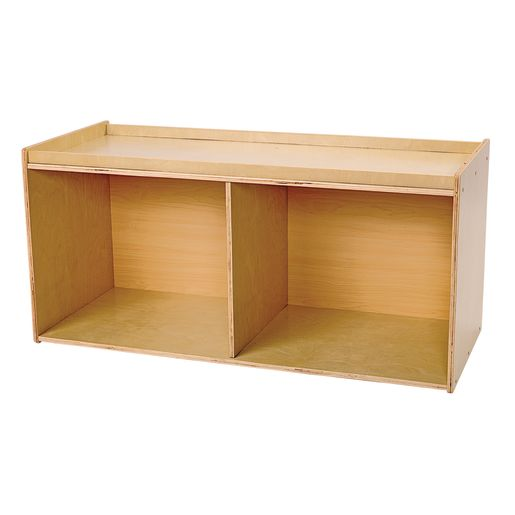 Divided Single Storage Unit w/Play Top