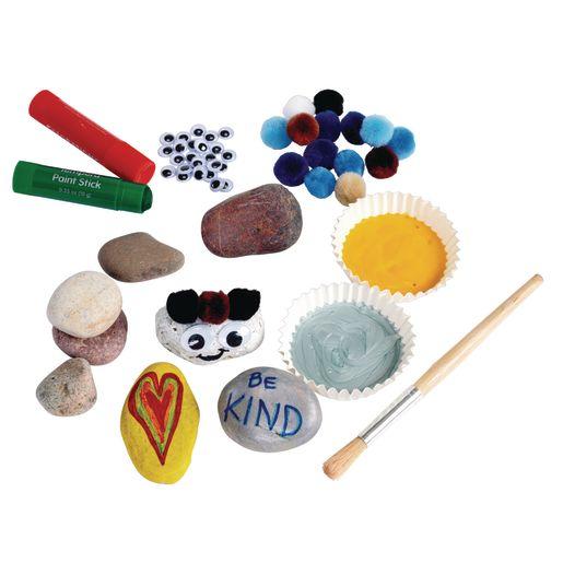 Assorted Craft Rocks 2 lb. Bag