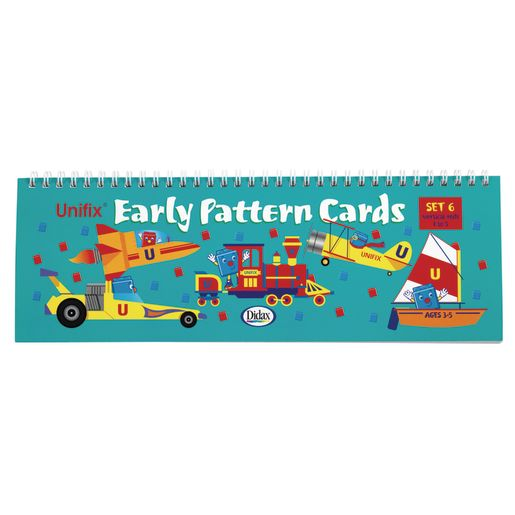 Early Pattern Cards Set of 3
