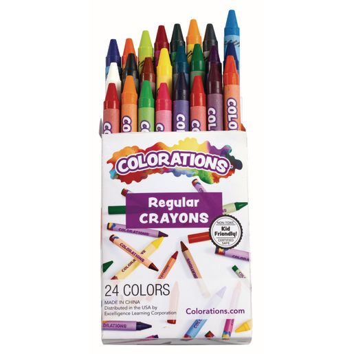 Image of Colorations Crayons Pack of 24