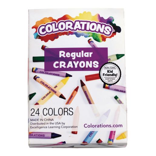 Colorations® Crayons Pack of 24_4
