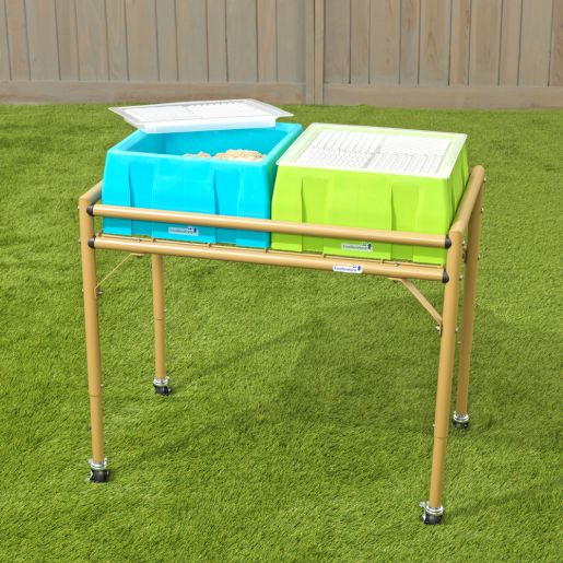 Excellerations® 2-Station Sensory Sand Table with Lids