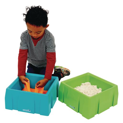 Excellerations® Sensory Sand Tray & Lid Set of 4