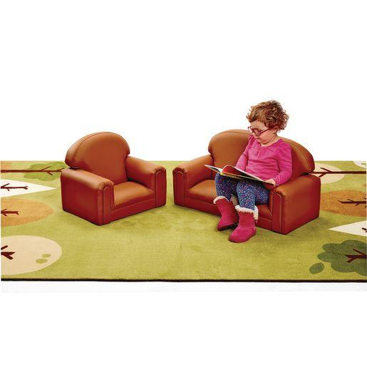 Environments PVC-Free Mini Club Chair & Sofa - Tan