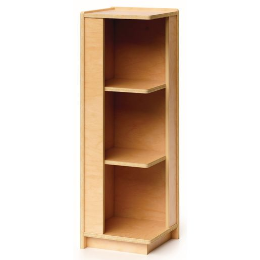 "36""H Corner Connecting Shelving Cabinet"