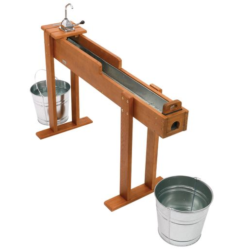 Excellerations® Outdoor Water Trellis and Panning Table with Pumps