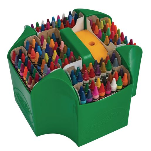 Image of Crayola Ultimate Crayon Collection, 152 Colors in Caddy