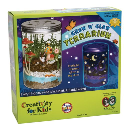 Grow & Glow Terrarium