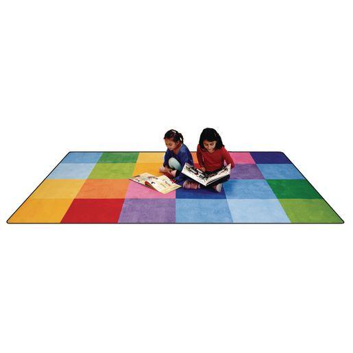 """Rainbow Mosaic Premium Carpet - 8'5"""" x 11'9"""" Rectangle"""